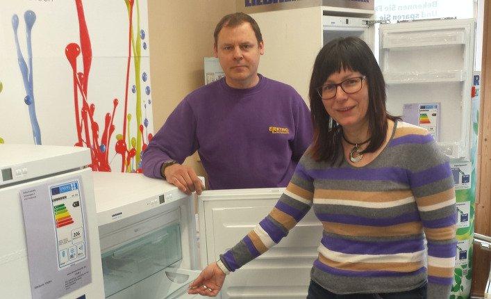 ...mit Caroline Prager, erfahrener Fachverkäuferin in Zeulenroda